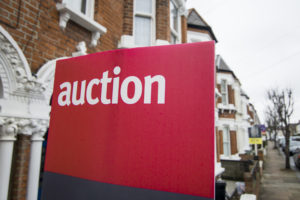 property auctions a sign